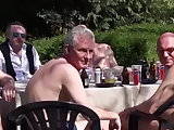 oldie, banging, double penetration actions, fresh young and old, gangbang, old man fucking, outdoor hardcore